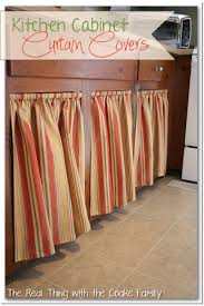 kitchen cabinet ideas curtains for cabinet doors
