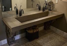 concrete bathroom sink concrete ramp sinks concrete bathroom sink countertop