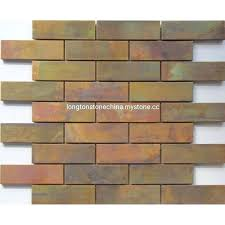 view larger image copper stainless steel metal wall colored hexagon mosaic tiles tile subway slate backsplash