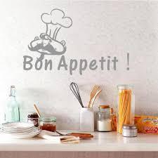 Us 347 13 Offkreative Kitchen Quote Französisch Wandtattoo Bon Appetit Vinyl Decor Aufkleber Für Restaurant Esszimmer In Kreative Kitchen Quote