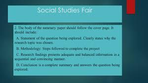 essay of purpose village fair