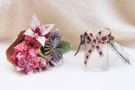 Paper Origami Flower Bouquet Origami Flower Bouquet Jujus Atelier