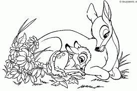 Bambi Kleurplaat Kleurplaten 158 Kleurplaat Kleurennet