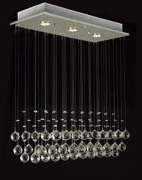 raindrop crystal chandelier to enlarge