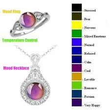 9 Ring Mood Fashion Rings For Sale Ebay