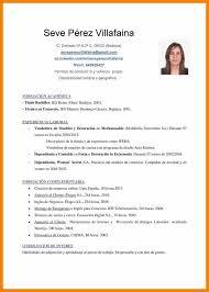 Ejemplo De Curriculum Vitae En Word 13 Curriculum Ejemplo Word Resume Package