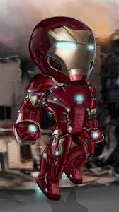 Little Iron Man IPhone Wallpaper