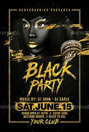 Black Flyer Backgrounds Black Party Flyer Template Elegant Flyer Templates For