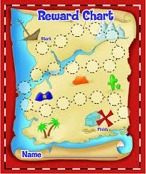Eureka Back To School Treasure Hunt Mini Reward Charts For Kids With Stickers 736pc 5 W X 6 H