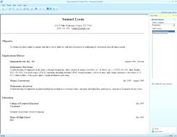 Beautiful Resume Maker Software Windows 7 Gallery Resume Software