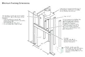 installing gas fireplace insert how to frame a gas fireplace insert replacing gas fireplace insert install