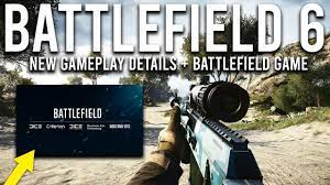 Battlefield 6 NEW Gameplay Details and Battlefield Game Announcement! -  YouTube