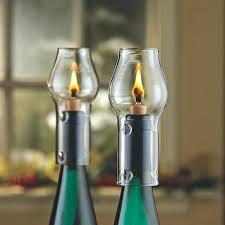 wine bottle lamp guide light shade
