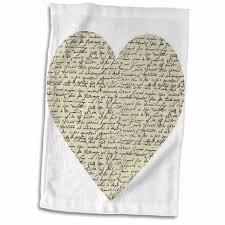 Symple Stuff Niemi Script Heart Hand Towel Wayfair