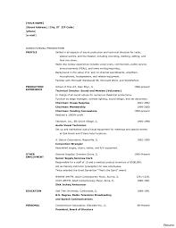 ... Pp4 Png Cb Av Technician Resume Cv 1a ...