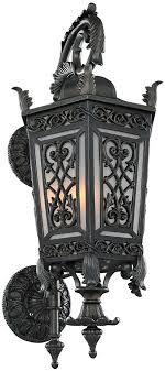 kalco 401120gi belcastro old world gilded iron outdoor um wall intended for cool old world outdoor
