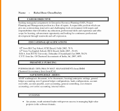 Resume Format For Freshers Mba Finance Pdf Samples Free Download ...
