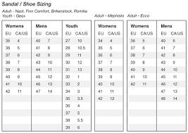 Bally Fitness Size Chart Devo Cinch Eshoe Medical