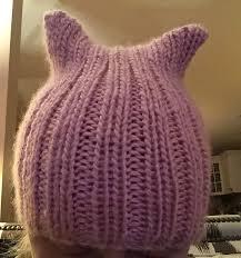 Pussyhat Pattern Unique Knitting Patterns Galore Quick Pussy Hat