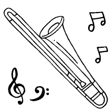 trombone coloring page. Trombone Coloring Pag Inspirational Page Popular And