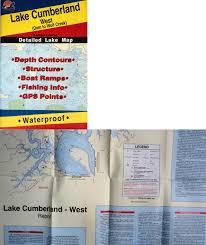 Charts And Maps 179987 Lake Cumberland West Dam To Wolf