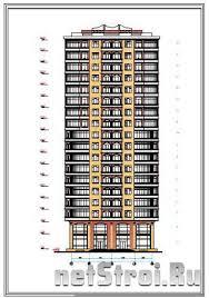 Курсовой проект ти этажный жилой дом Многоэтажные жилые дома  Курсовой проект 9 ти этажный жилой дом