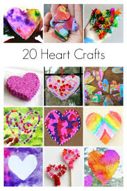 20 Heart Crafts for Kids