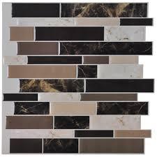 Peel And Stick Kitchen Tile Self To Self Stick Kitchen Backsplash Tiles Home And Interior
