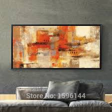 Hand Painted Canvas Oil Paintings Abstract Modern Home Decoration Delectable Home Decoration Painting Collection