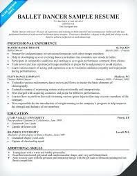 Sample Dance Resume For Audition Best of Dance Resume Templates Resume Ideas Pro