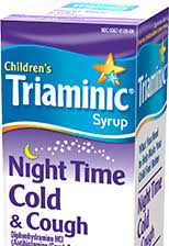 Night Time Cold And Cough Childrens Triaminic Syrup