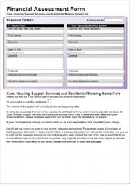 Sample Assessment Form Sample Forms Victoria Forms