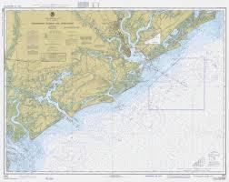 Charleston Harbor And Approaches Map South Carolina Historical Chart 1977