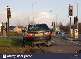 Bmw X5 4x4 Inconsiderate Parking On A Grass Verge Which Has