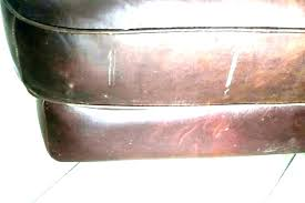 how to repair leather repairing furniture tear a couch hole in faded steering wheel le