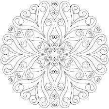 Mandala Coloring Pages Free Printable Free Mandala Coloring Pages To