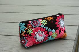 quilted makeup bag pattern photo 1