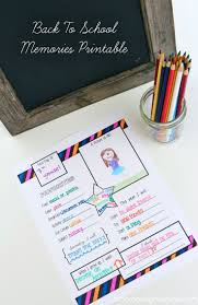 best ideas about school memories memories box back 2 school memories printable on lilluna com