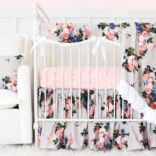 baby girl crib bedding caden lane target stella s taupe fl ideas sets 1600