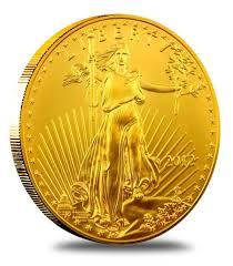1 10 Oz American Gold Eagle Coin