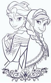 Fresh Coloriage Elsa Et Anna Reine Des Neiges Dessin Imprimer Free