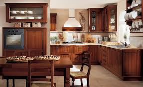 Kitchen Classy Traditional Kitchen Design With Weathered Wood