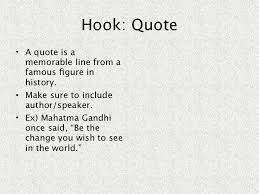 the write stuff essay hook