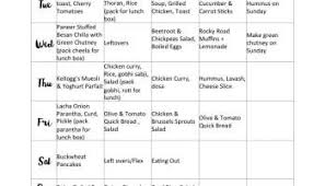 Weekly Menu Weekly Menu : 10 tips to manage weekly meals | sinamontales