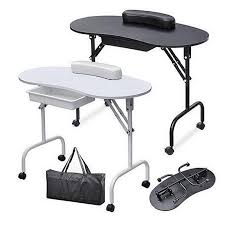 foldable portable nail table manicure equipment for nail salon with bag beauty salon furniture nail polish art step by step nail art from dangdangqiu