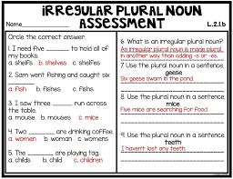 Teaching Irregular Plural Nouns