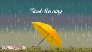 good morning gif rain