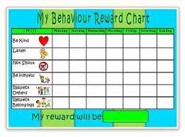 Reward Chart Behaviour Reward Chart Magnetic 3 Colours Or U Choose Free Pen Stickers Ebay