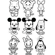 Coloring Pictures Disney Princesses Princess Cuties Coloring Pages