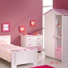 Süßes Mädchen Schlafzimmer In Weiß Mit Rosa Queen